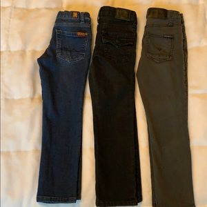 7, Hudson, and True Religion Boys Jeans